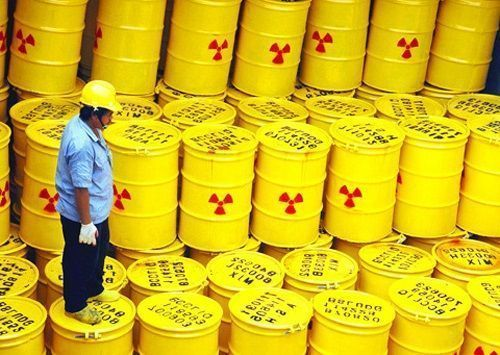 Desechos sólidos radiactivos
